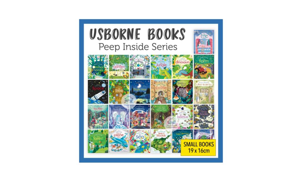 Usborne Peep Inside Books