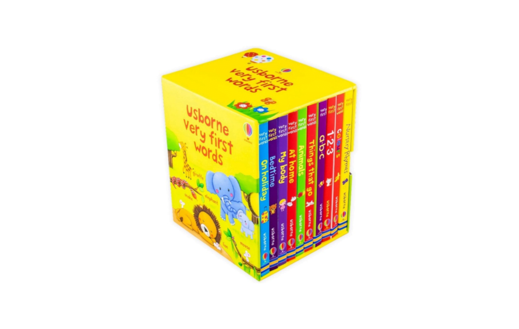 Usborne Very First Words 10 Books Collection