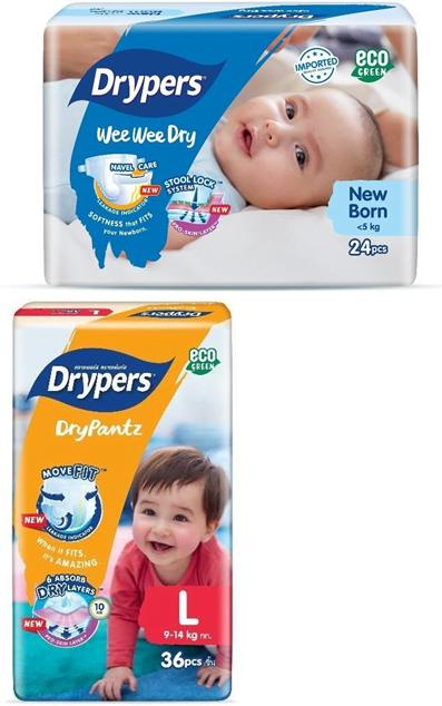drypers diapers