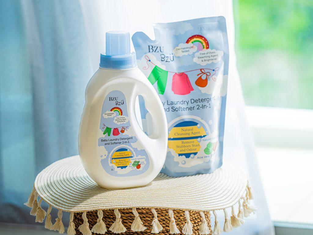 BZU BZU Baby Laundry Detergent and Softener 2-in-1